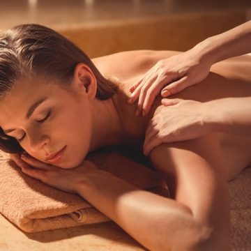 Massage , pakking , peeling & Rituelen